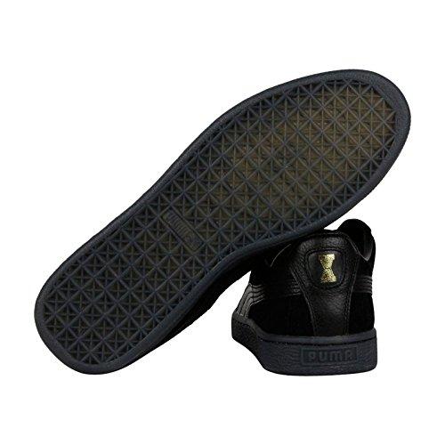 Puma X Vashtie States Heren Zwart Suède Veter Sneakers Schoenen 11