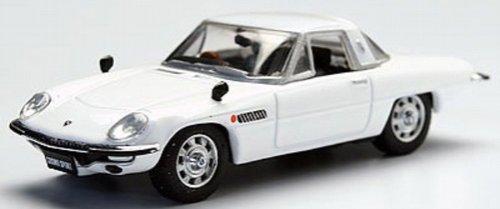1/64 マツダ コスモスポーツ L10B 1968年(ホワイト) 「Beads Collection 京商ダイキャストカーシリーズ」 06110W