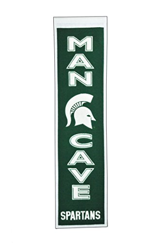 Winning Streak NCAA Michigan State Spartans Man Cave Banner