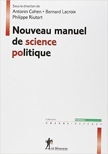 Book Nouveau manuel de science politique