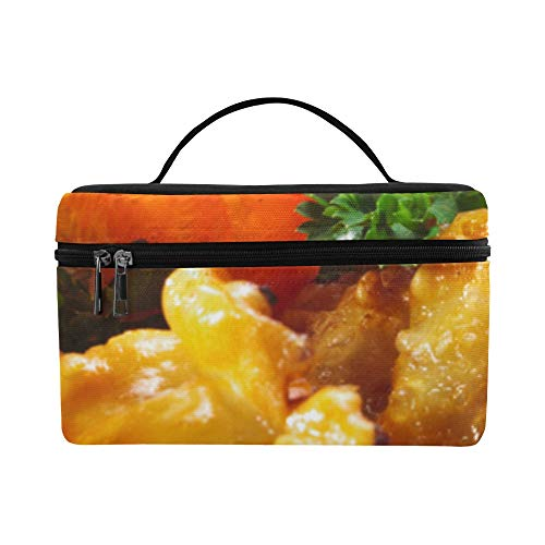 Delicious Chinese Traditional Dumplings Pattern Lunch Box Tote Bag Lunch Holder Insulated Lunch Cooler Bag For Women/men/picnic/boating/beach/fishing/school/work