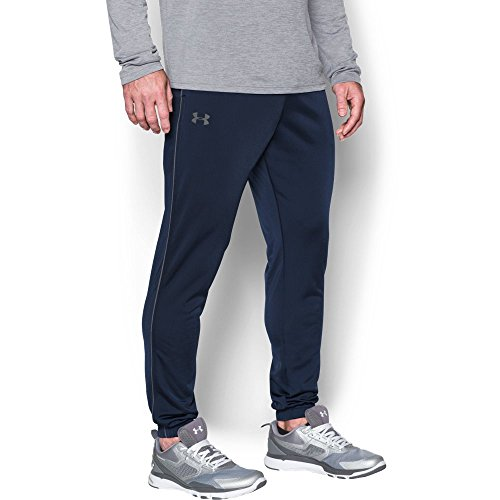elentless Warm-Up Pants – Tapered Leg, Midnight Navy/Graphite, Medium (Soccer Warm Up Pants)