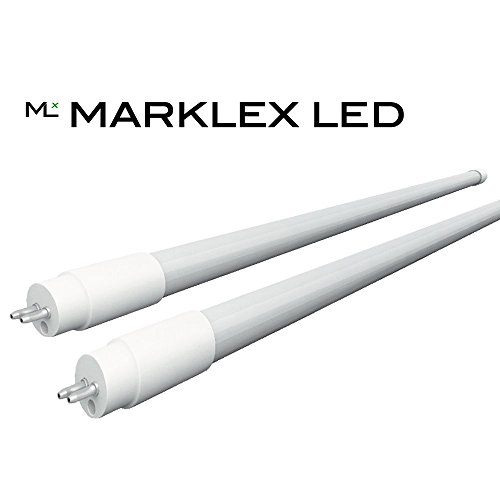 Marklex LED T5 HO Horticulture LED Grow Lamp - High-Output - Direct Replacement - 4 foot - [2-Pack] (Led Grow Light T5)
