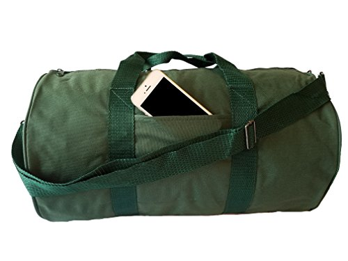 ImpecGear Round Duffel Sports Bags, Travel Gym Fitness Bag. (Fitness Bag)