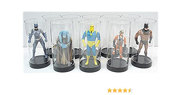10 Protech Clear ACTION FIGURE DISPLAY STANDS VINTAGE STAR WARS unopened