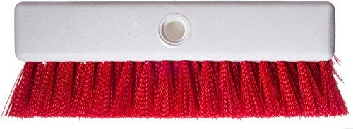 Carlisle 4042305 Hi-Lo Floor Scrub Brush, Red (Pack of 12) by Carlisle (Image #3)