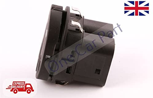 Window Control Switch,Front Left Window Control Switch Button 96FG14529BC Fits for TRANSIT MK7 2006