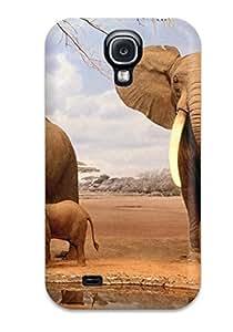 Melissa Jean Carpenter Premium Protective Hard Case For Galaxy S4- Nice Design - Elephant
