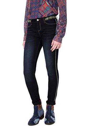 Desigual Damen Jeanshose Denim Dark Blue