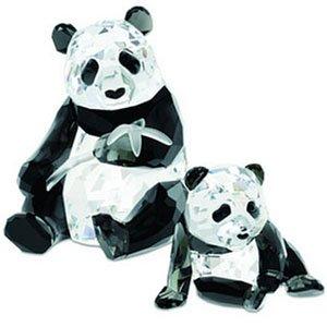 (Swarovski Annual Edition Pandas Figurine 2008)