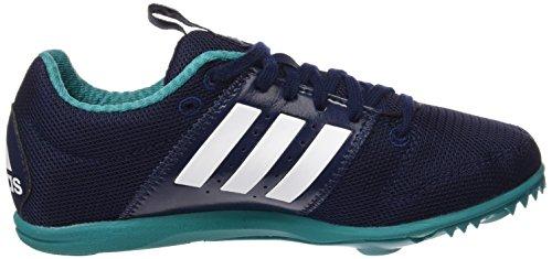adidas Allroundstar J - Zapatillas de running para niños Multicolor (azul marino/blanco/verde)