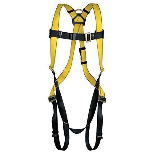 MSA Safety 10096486 Style 1-D Harness Vest, Standard Size -