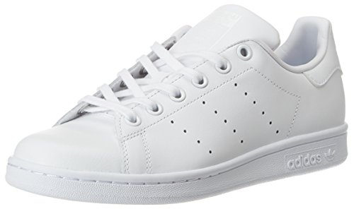 adidas Youths Stan Smith White Leather Trainers 5 US