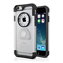 Rokform 302220 Ultra Protective, Rugged iPhone 6 Case with Reinforced Corners and Proven Safe Magnetic Car Mount-Clear
