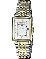 Raymond Weil Womens 5956-Stp-00915 Two-Tone Stainless Steel Watch with Link Bracelet