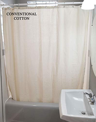 Bean Products Cotton Shower Curtain - 70