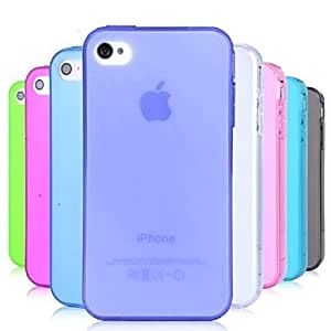 ZCL TPU Dust Proof Soft Case for iPhone 4/4S (Assorted Colors) , White
