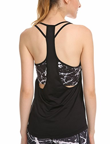 7e06a57c93b The Best Yoga Tops Builtin Bra - See reviews and compare