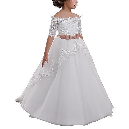 Flowers Ball Gown Wedding Dress Amazon