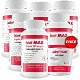 Joint Max 6PACK Triple Strength (720 Chewable Tablets) + FREE Joint Treats