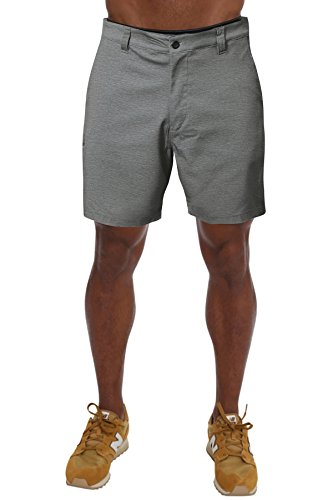 - PULI Mens Lightweight Breathable Soft Quick Dry Hiking Shorts Grey XL 36