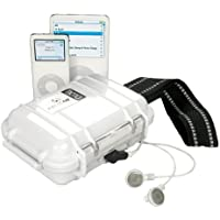 Pelican i1010 Waterproof Case for iPod (White)