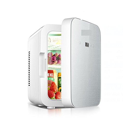 Refrigerador del coche 8l,Refrigerador mama leche mini pequeño equipaje insulina refrigerador termostato dos mundo albergue...