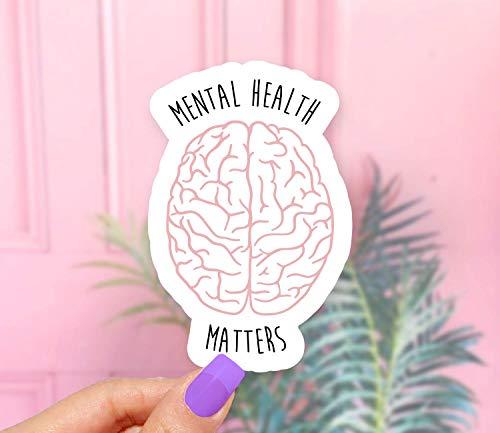s Brain Sticker - Pack of 2 ()