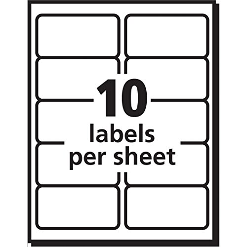 avery shipping address labels  inkjet printers  250 labels