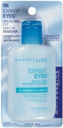 - Maybelline Expert Eyes 100% Oil Free Eye Make-Up Remover - 2.3 Fl Oz (Pack of 3)