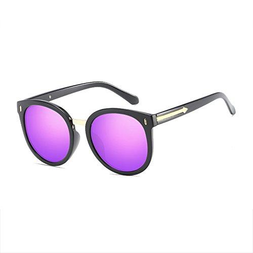 de Sol de la Explosión Modelos Gafas Black Gafas UV de para Decoración Película Antideslumbrante Polarized UV Sol framepurple HLMMM Color Hombres Flechas Protección Ojos de los Sra pZxqHg5H