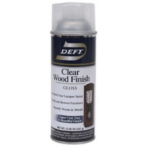 (Deft Interior Clear Wood Finish Gloss Lacquer, 12.25-Ounce Aerosol Spray)