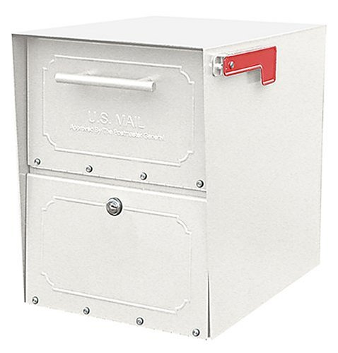 Architectural Mailboxes Oasis Jr. Mailbox, White