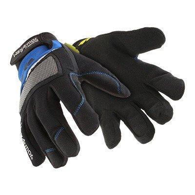 Hexarmor 4018 Mechanic's Plus Cut 5 Mechanic Chrome Series Work Safety Glove 9 Large