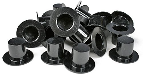 [Bulk Package of 288 Miniature Black Acrylic Top Hats for Crafting, Embellishing and Creating] (Miniture Top Hats)
