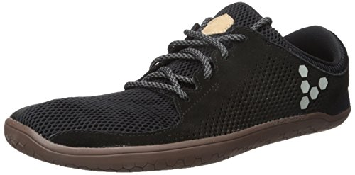 Vivobarefoot Men's Primus Trio Everyday Trainer Running-Shoes, Black, 40 D EU (7 US)