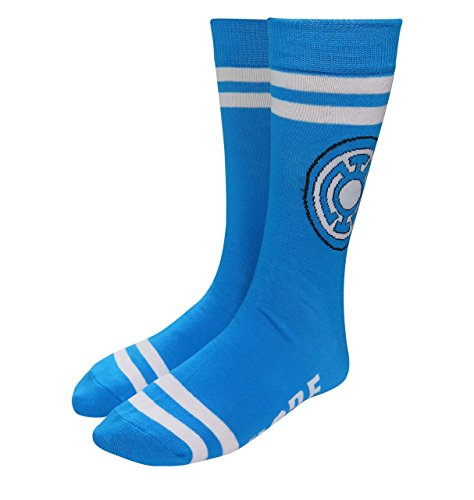 Green Lantern Blue Lantern Hope Socks (Green Lantern Blue Lantern)