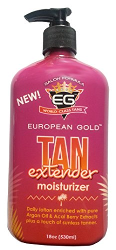 European Gold Tan Extender Moisturizer, 18 Oz by European Gold