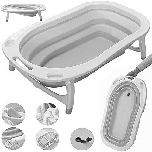 iSafe Foldable Baby Bath Light Grey 2019