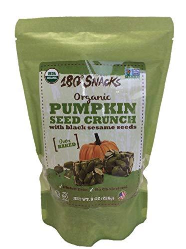 Organic Pumpkin Seed Crunch with Black Sesame Seeds, Oven Baked Net Wt ()