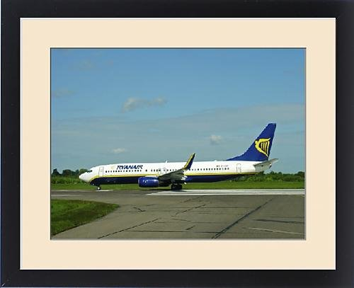 framed-print-of-boeing-737-800-ryanair-at-stansted-airport