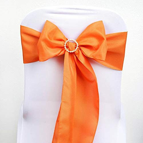 Mikash Polyester Chair Sashes Bows Ties Wedding Reception Decorations Wholesale | Model WDDNGDCRTN - 4874 | 50 pcs