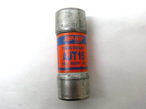 Ferraz Shawmut AJT15 Amp-Trap Dual Element Time Delay Fuse 15 Amp 600V ()