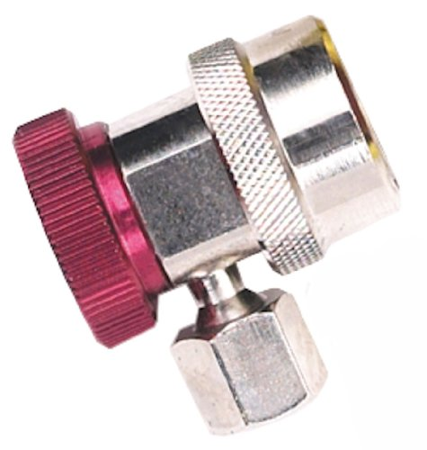Robinair (18191A R-134a High Side Service Coupler with Red Actuator