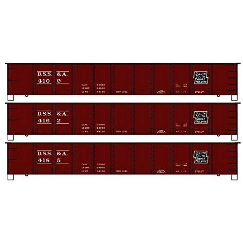 Accurail 37694 - Duluth South Short & Atlantic 41ft Gondola 3pack - HO Scale Kit