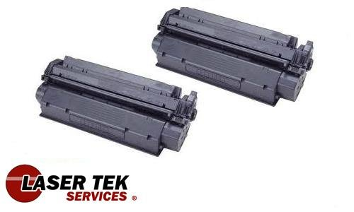 Laser Tek Services® High Yield Toner Cartridge 2 Pack Compatible with Canon S35 ImageClass D320 D340 FX8