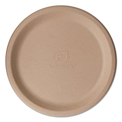 Wheat Straw Dinnerware, Plate, 9 inch Diameter, 500/Carton