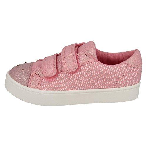 Rosa Clarks Pattie Stringate Scarpe Pink Lola Donna F1q4v