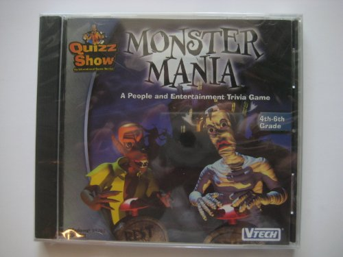 MONSTER MANIA : A PEOPLE AND ENTERTAINMENT TRIVIA GAME (CD-ROM) ()