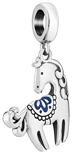 Chamilia Authentic Horse Bead | Charm 2020-1050 (Pugster Horse)